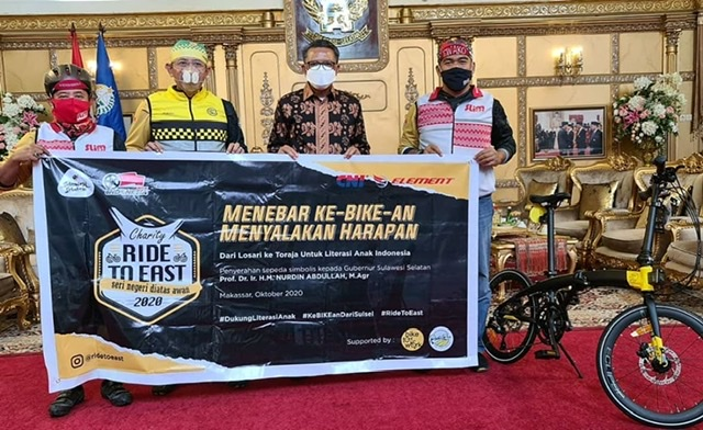 Nurdin Abdullah dan Komunitas Bike2Work Indonesia Ajak Bersepeda Jadi Kebutuhan.lelemuku.com.jpg