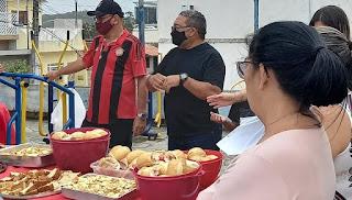 Vereador Nal realiza café da manhã com pais do Bairro São José; Veja fotos