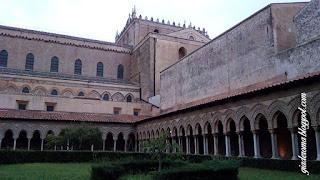 patio convento monreale palermo guia portuugues - Dez razões para ver e se apaixonar por Palermo