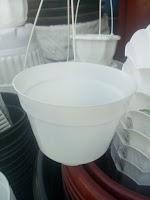Pot Putih 15 cm