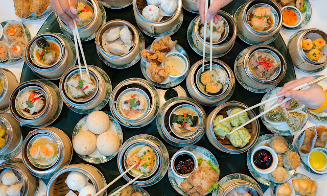 Dim sum is an indispensable part of the Chinese community's culinary culture in Ho Chi Minh City