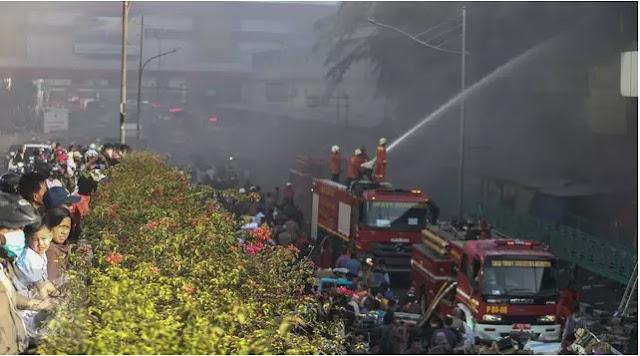 Kronologi Kebakaran Pasar Senen Jakarta Pusat