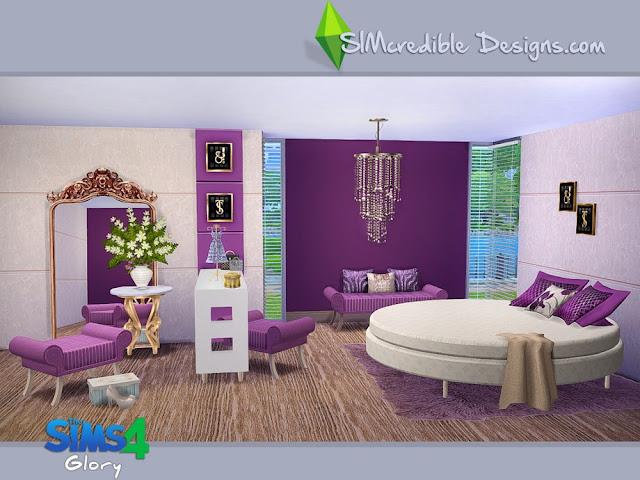 Спальня — наборы мебели и декора для Sims 4 со ссылкой для скачивания