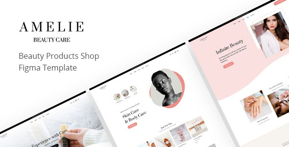 Best Beauty Care eCommerce Figma Template