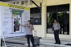 Kapolres Batang Memberikan Langsung Pelatihan TWG Kesiapan Pengamanan Pelantikan Kepala Desa