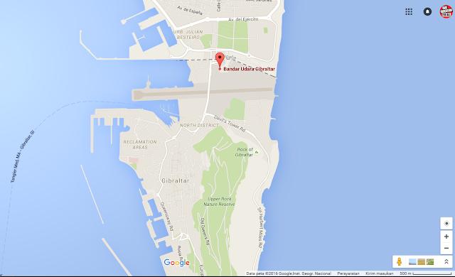 Landasan pacu bandara Gibraltar, Uniknya Bandara Gibraltar
