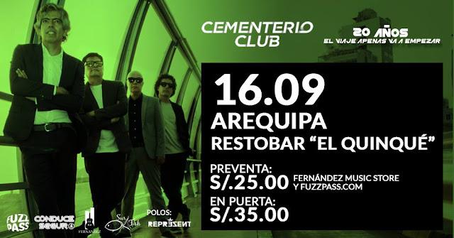 Cementerio Club en Arequipa