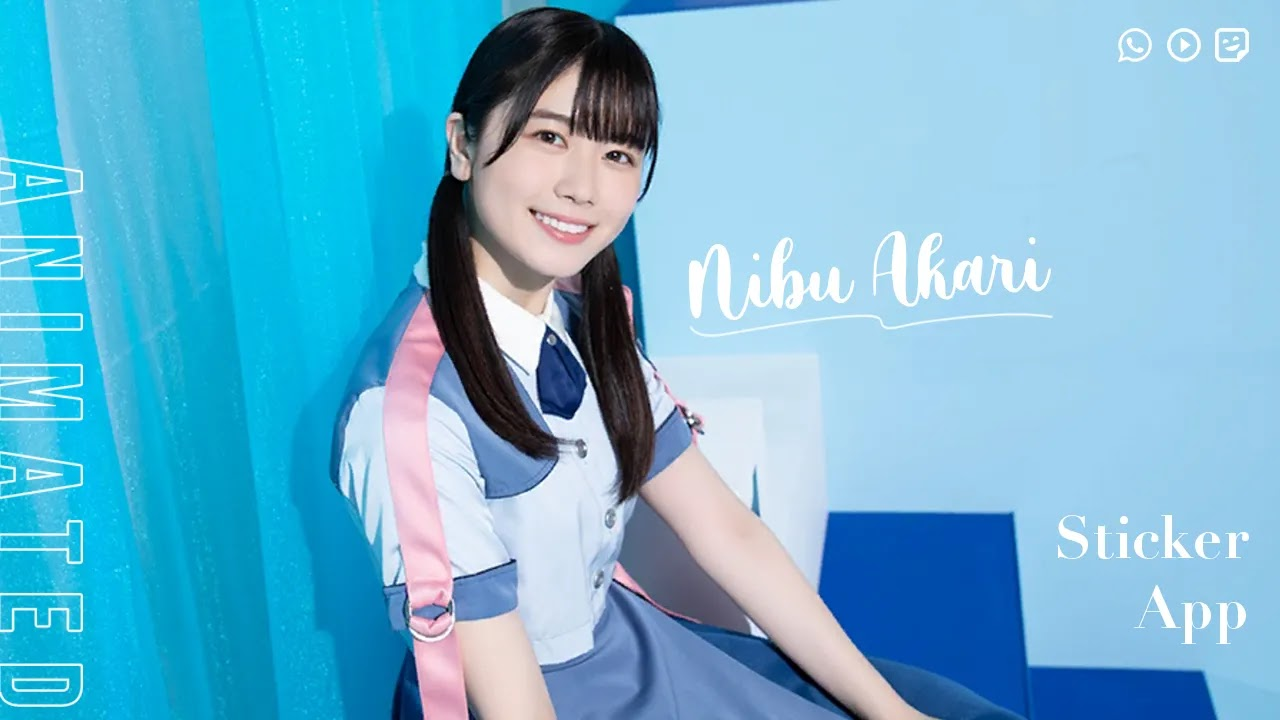 [UPDATE] WhatsApp Sticker App Nibu Akari - Hinatazaka46 v1.2