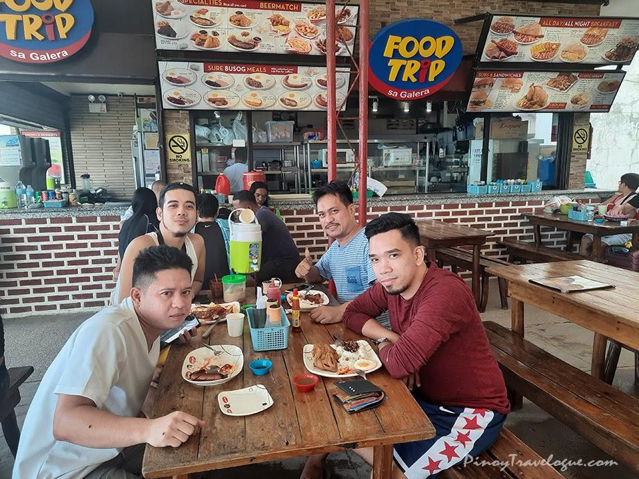 Having lunch at Food Trip sa Galera