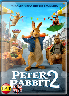 Peter Rabbit 2: Conejo en Fuga (2021) FULL HD 1080P LATINO/INGLES