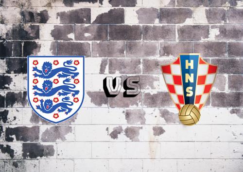 Inglaterra vs Croacia  Resumen y Partido Completo