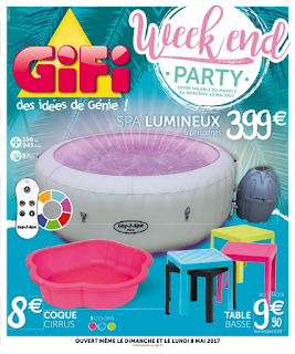 Catalogue GiFi 02 au 10 Mai 2017