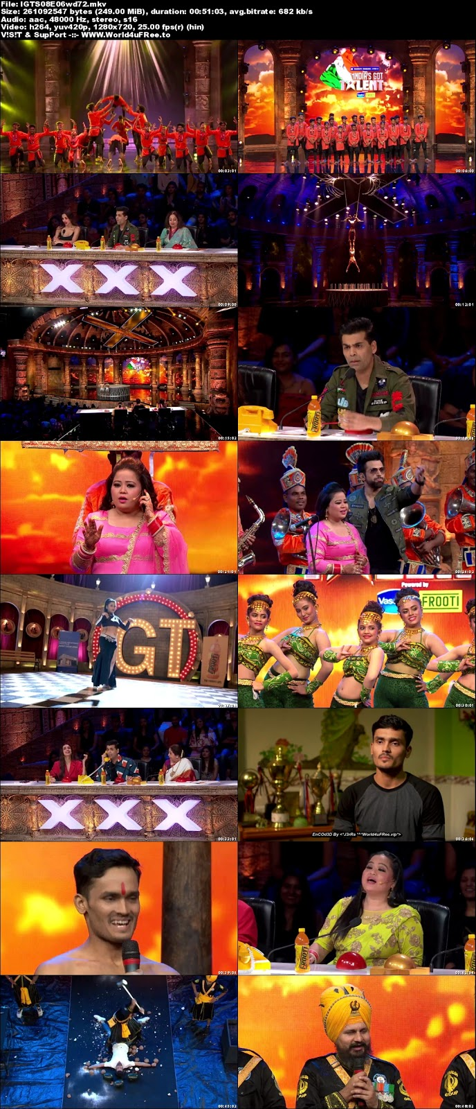 India's Got Talent S08 Episode 06 720p WEBRip 250mb x264 world4ufree.vip tv show India's Got Talent  Season 8 Star Plus tv show HD 720p free download or watch online at world4ufree.vip