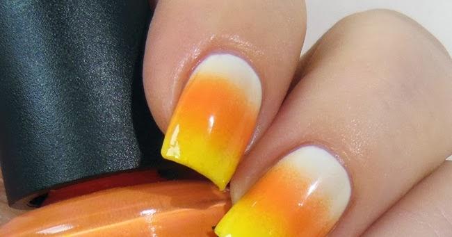 Did My Nails Wayback Nails Candy Corn Gradient