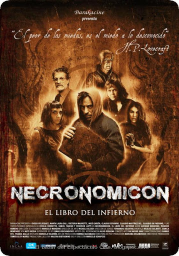 Necronomicón [2018] [CUSTOM HD] [DVDR] [NTSC] [Latino]