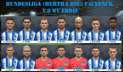 PES 2017 Bundesliga Facepack v8 by Eddie Facemaker