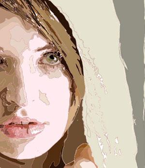 女性のイラストです。