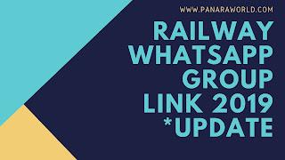 Railway Whatsapp Group Link 2019