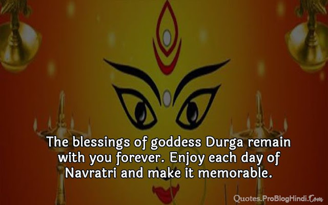 navratri blessings quotes