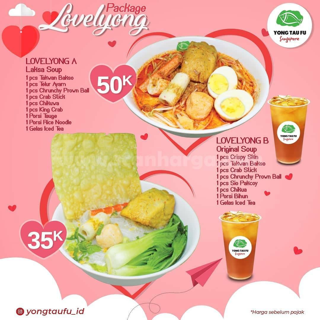 YONG TAU FU Promo Paket LOVELYONG - harga mulai Rp 35.000