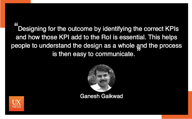 UX Quote by Ganesh