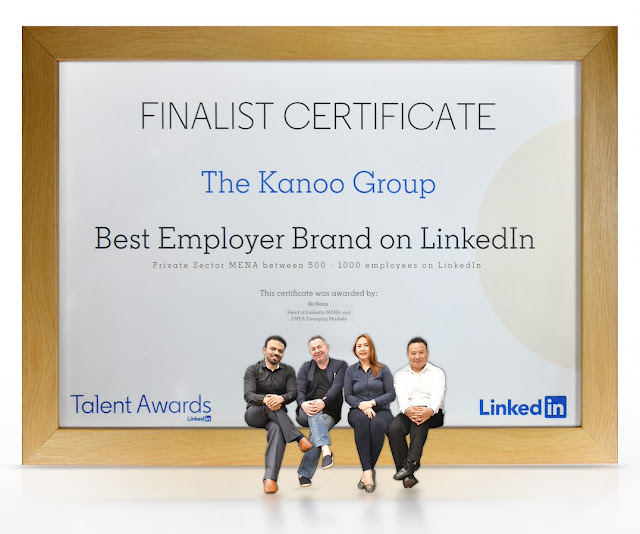 The Kanoo Group bags nomination for Best Employer Brand at the 2019 LinkedIn awards