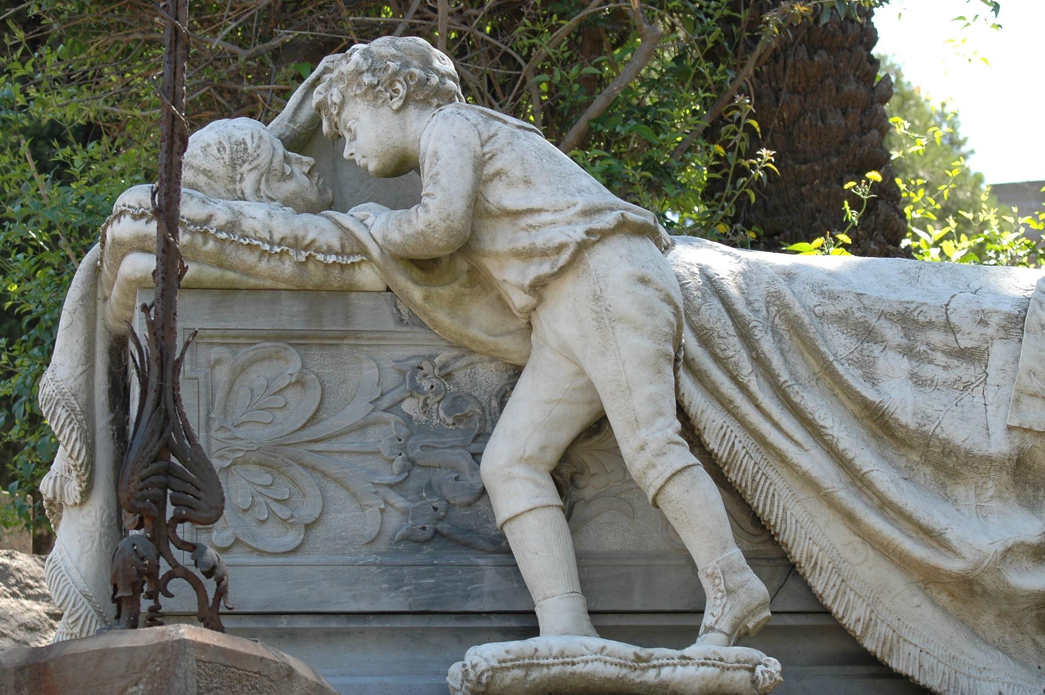 Monumental Cemetery of Bonaria (Cagliari, Italy)