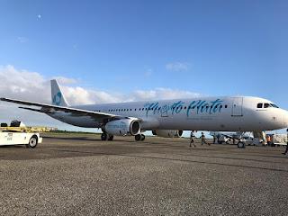 """La nueva línea aérea de RD Sky Cana recibe su primer avión Airbus A321. """"El Internacional """""""
