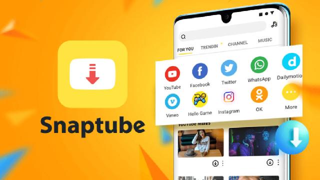 شرح تطبيق سناب تيوب Snaptube لتحميل الفيديوهات من مواقع التواصل الإجتماعي