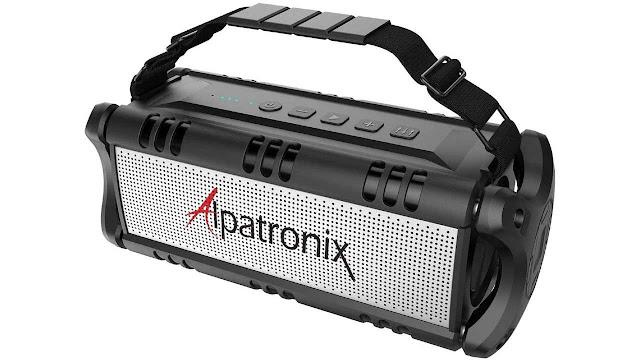 Alpatronix AX500 Waterproof Bluetooth Speaker