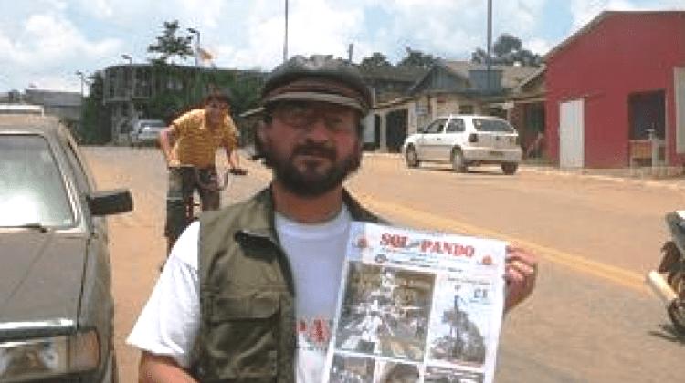 García Mérida estuvo en Bolivia en diciembre pasado para asumir su defensa ante un caso de sedición / ARCHIVOS