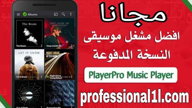 تحميل PlayerPro Music Player apk مجانا