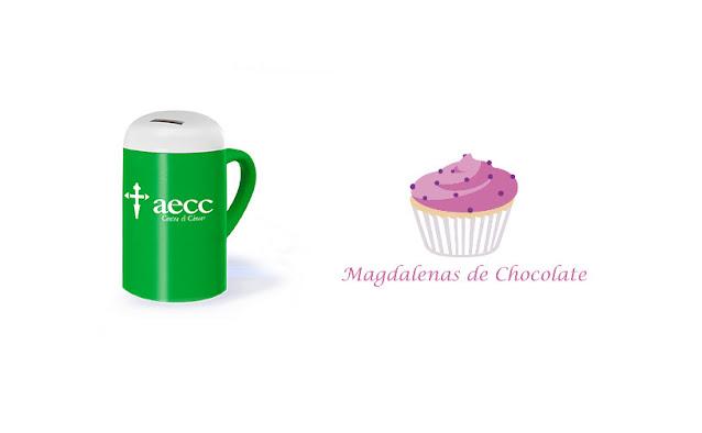 Magdalenas de chocolate por la lucha contra el cáncer