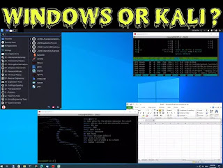Windows and Kali Linux in same desktop with Win-KeX new update