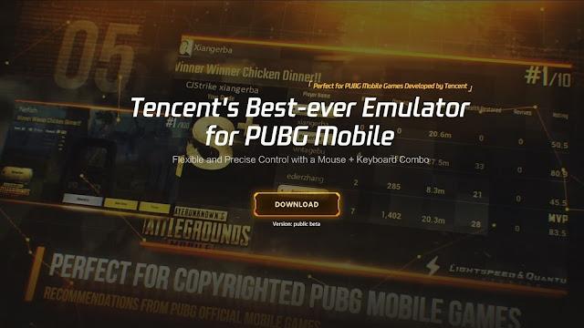 شرح تحميل tencent gaming buddy