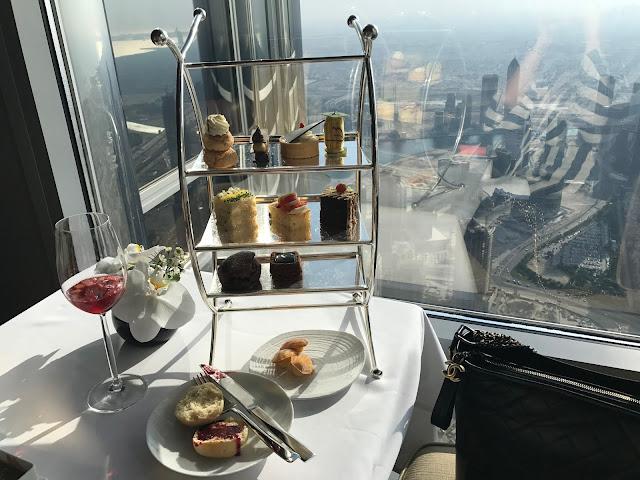 【Afternoon Tea 分享】全球最高 Afternoon Tea 體驗*At.mosphere Lounge, Dubai