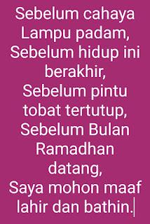 Kata kata menyambut bulan Ramadhan menyentuh hati romantis