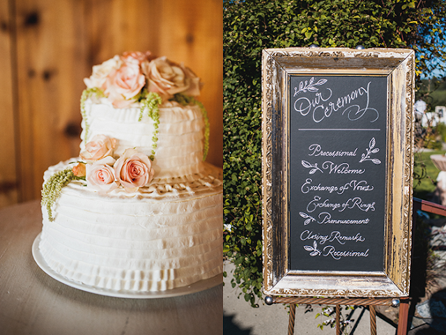cake and chalk