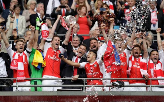 Football: Arsenal Beat Chelsea 2-1 To Clinch FA Cup In Emirate Stadium - Exlink Lodge - Nigeria Entertainment, Politics & Celebrity News