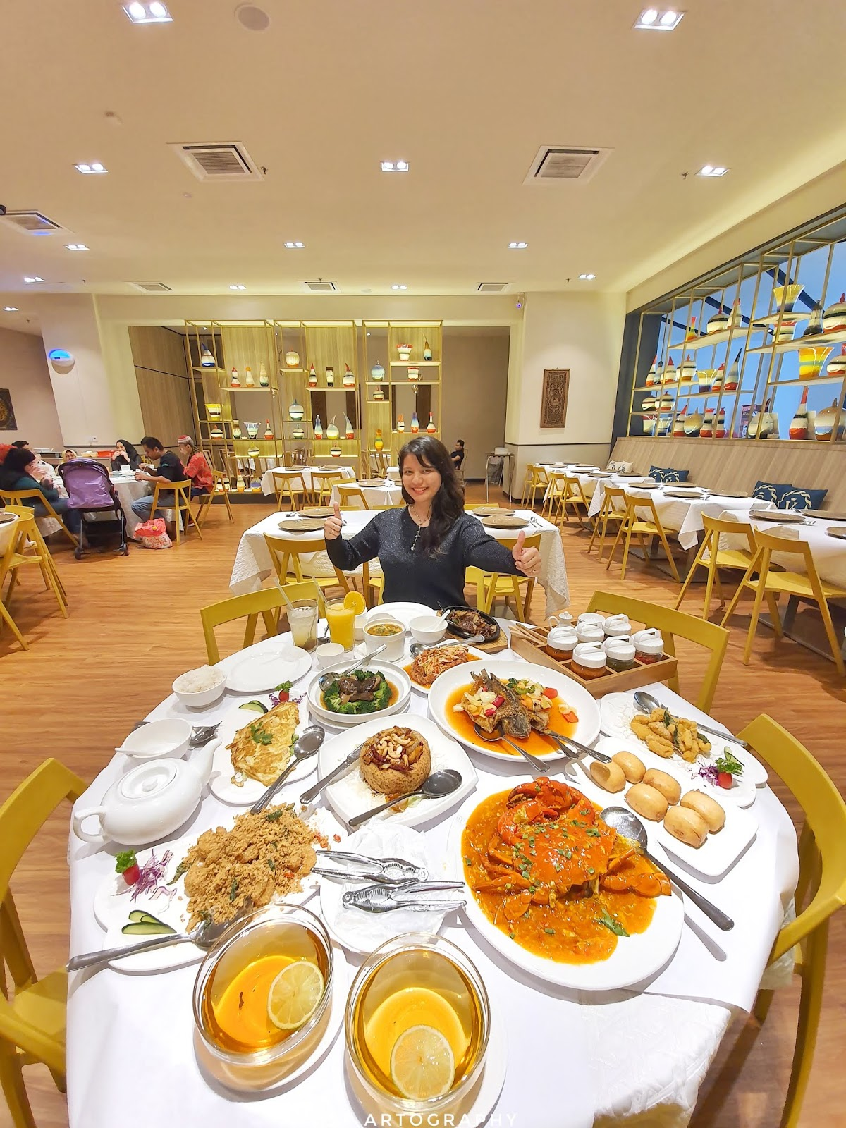 Fantastic Halal Malaysia Chinese Cuisine and Seafood at Golden Valley, Melawati Mall