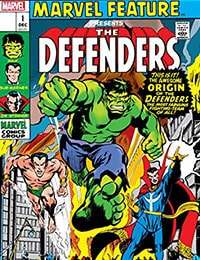 Defenders: Marvel Feature #1: Facsimile Edition