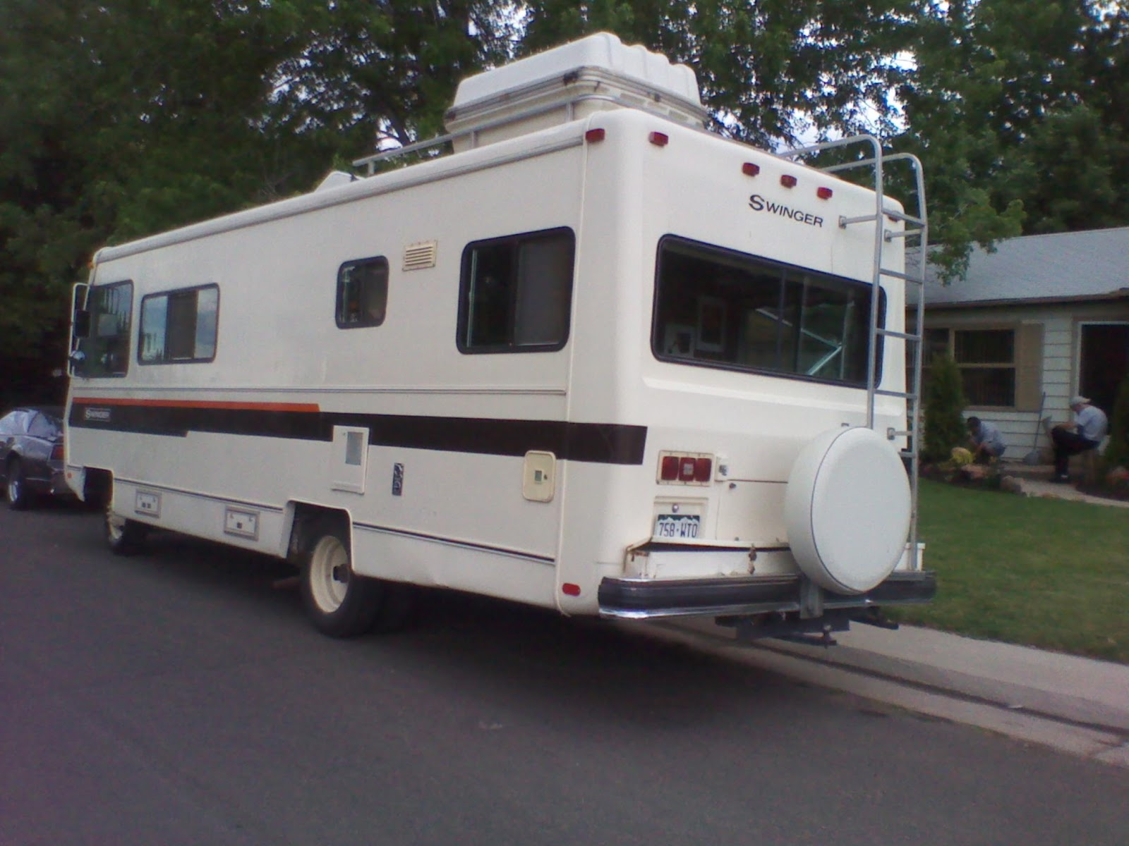 Swinger travel trailer