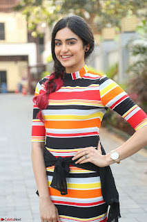 Adha Sharma in a Cute Colorful Jumpsuit Styled By Manasi Aggarwal Promoting movie Commando 2 (79).JPG