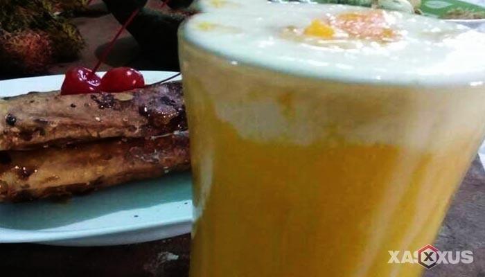 Resep cara membuat jus mangga krim dengan yoghurt