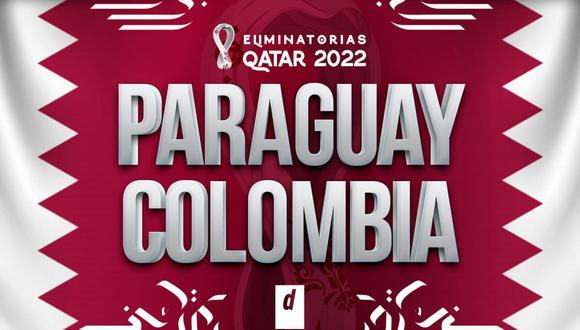 Colombia vs. Paraguay EN VIVO vía GOL Caracol por Eliminatorias Qatar 2022