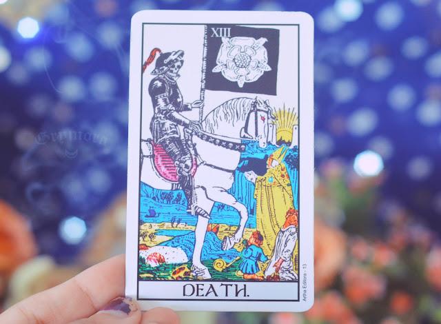 Saiba o significado da carta 13 ou sem número - A Morte no Tarot do amor, dinheiro e trabalho, saúde, obstáculo ou invertida e como conselho.