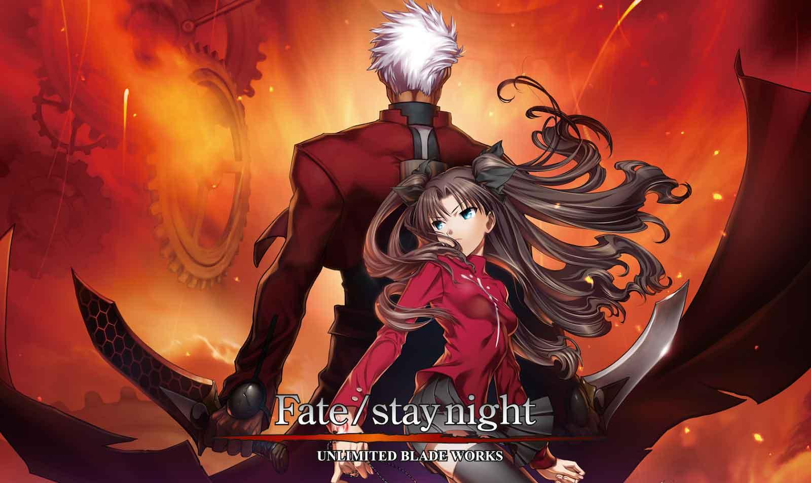Fate/Stay Night: Unlimited Blade Works BD (Season 1 & Season 2) Subtitle Indonesia + OVA