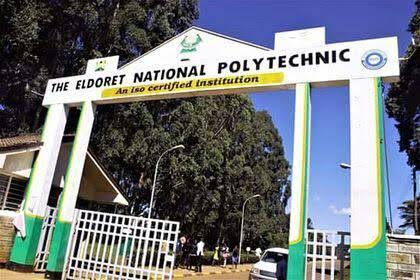 The Eldoret national polytechnic 2019 / 2020 courses