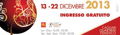Immagine del logo della Fiera di Natale 2013 a Cagliari