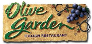 Dining at Olive Garden